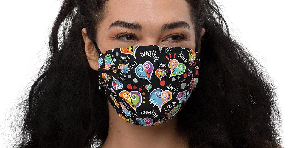 Face Mask HEARTS