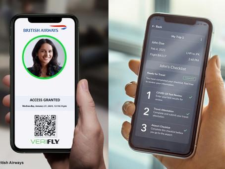 British Airways expérimente un passeport sanitaire numérique