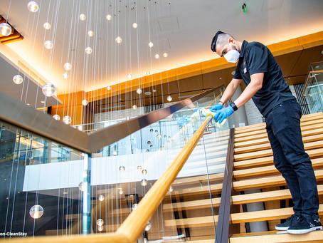 Hilton définit un nouveau standard de propreté hôtelière