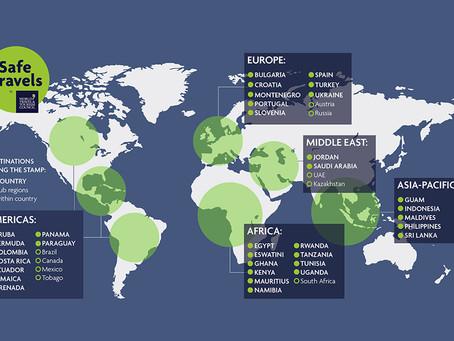 «Safe travels» – Tampon de sécurité mondial pour reconnaître les protocoles de voyages sécuritaires
