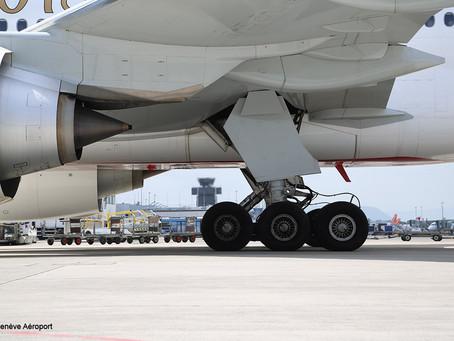 Genève Aéroport: 30 avions pour ce premier jour de reprise