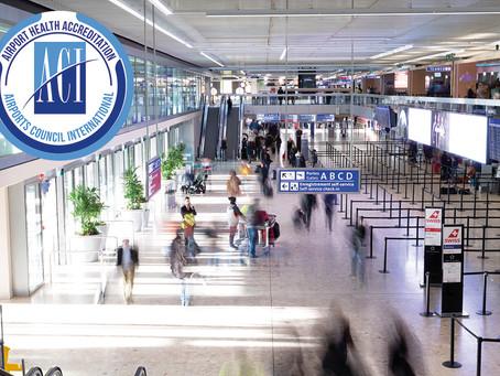 Genève aéroport obtient l'Airport Health Accreditation de l'ACI