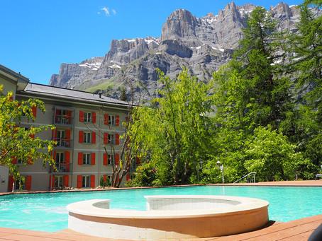 SUISSE: réouverture de l'hôtel Les Sources des Alpes***** à Loèche-les-Bains