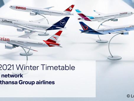 Calendrier des vols «2020/2021»
