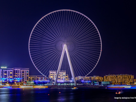 Dubaï inaugure la plus haute roue d'observation du monde