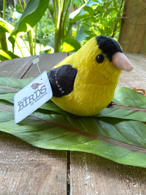 American Goldfinch Plushie