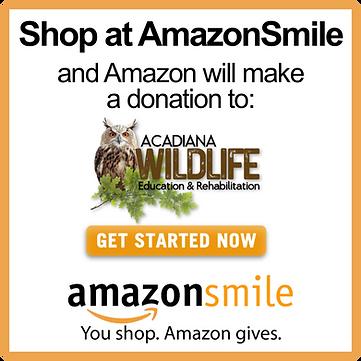 ACAIANA WILDLIFE DONATE AMAZON SMILE