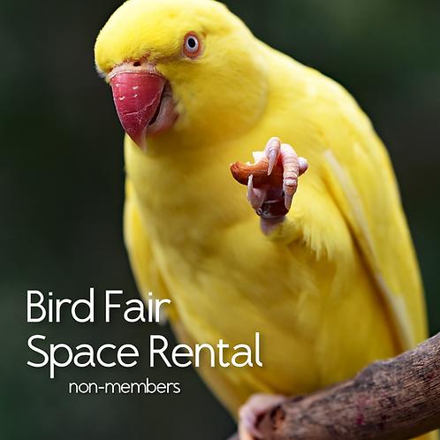 Bird Fair Space Rental (NON-MEMBERS)