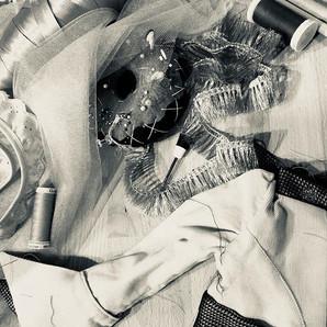 My inspiring mess ❤️ #sewingstudio #text