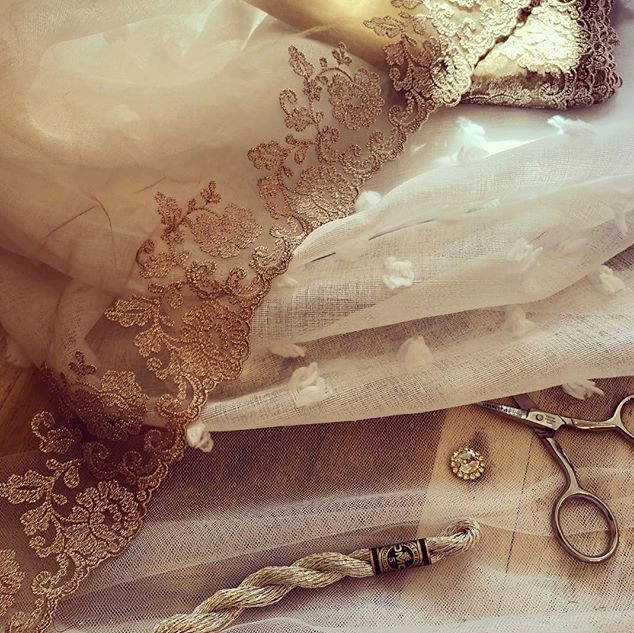 Materials and inspiration for a new dres