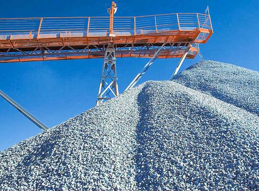 Uso de brita ajuda a evitar rompimento de barragens de rejeitos