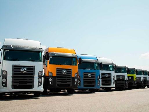 Volkswagen alerta sobre autorização para caminhões transitarem