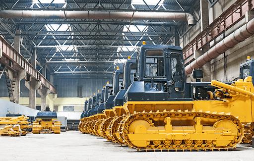 Vendas de máquinas da linha amarela crescem 35%