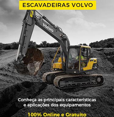 Treinamento online - Escavadeiras Volvo, em 16/9