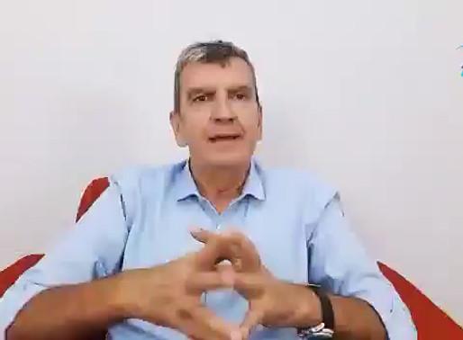 Sr. Daniel Eurimilson relata resultado de reunião virtual das entidades nacionais