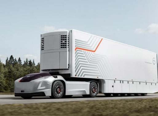 Volvo Trucks divulga na Europa veículos futuristas e autônomos para transporte comercial