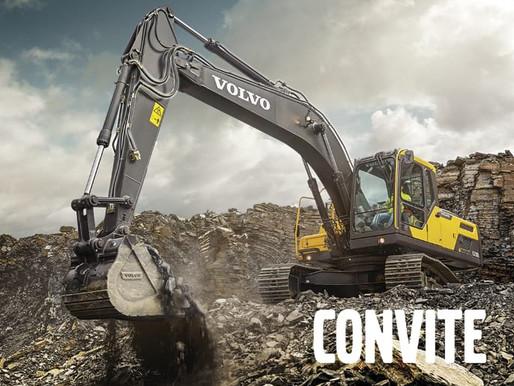 Lançamento Escavadeiras Volvo Construction Equipment.