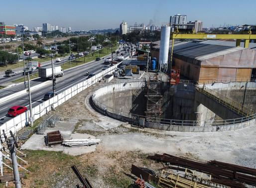 Obras paradas e atrasadas em SP caem 16%