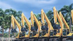 Vendas globais de equipamentos de construção podem ter recorde em 2021
