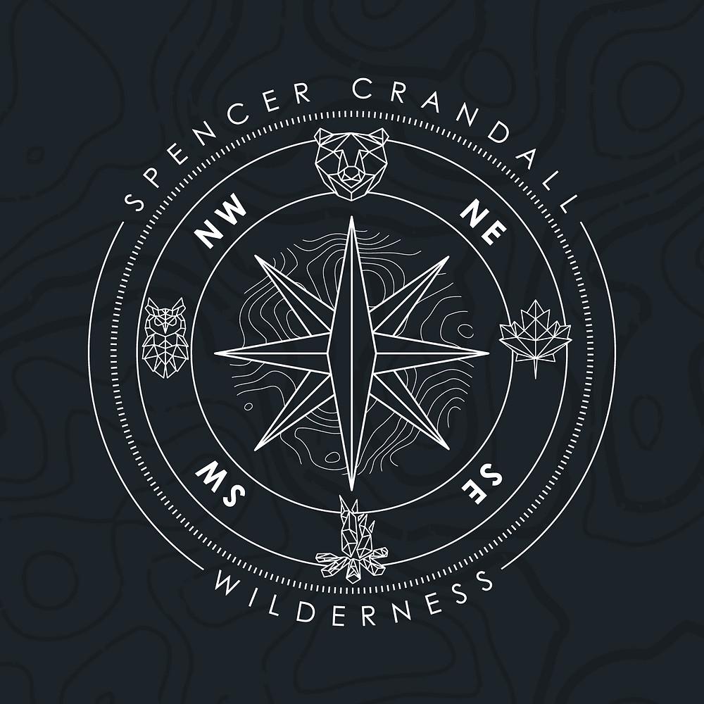 nature apparel badge design