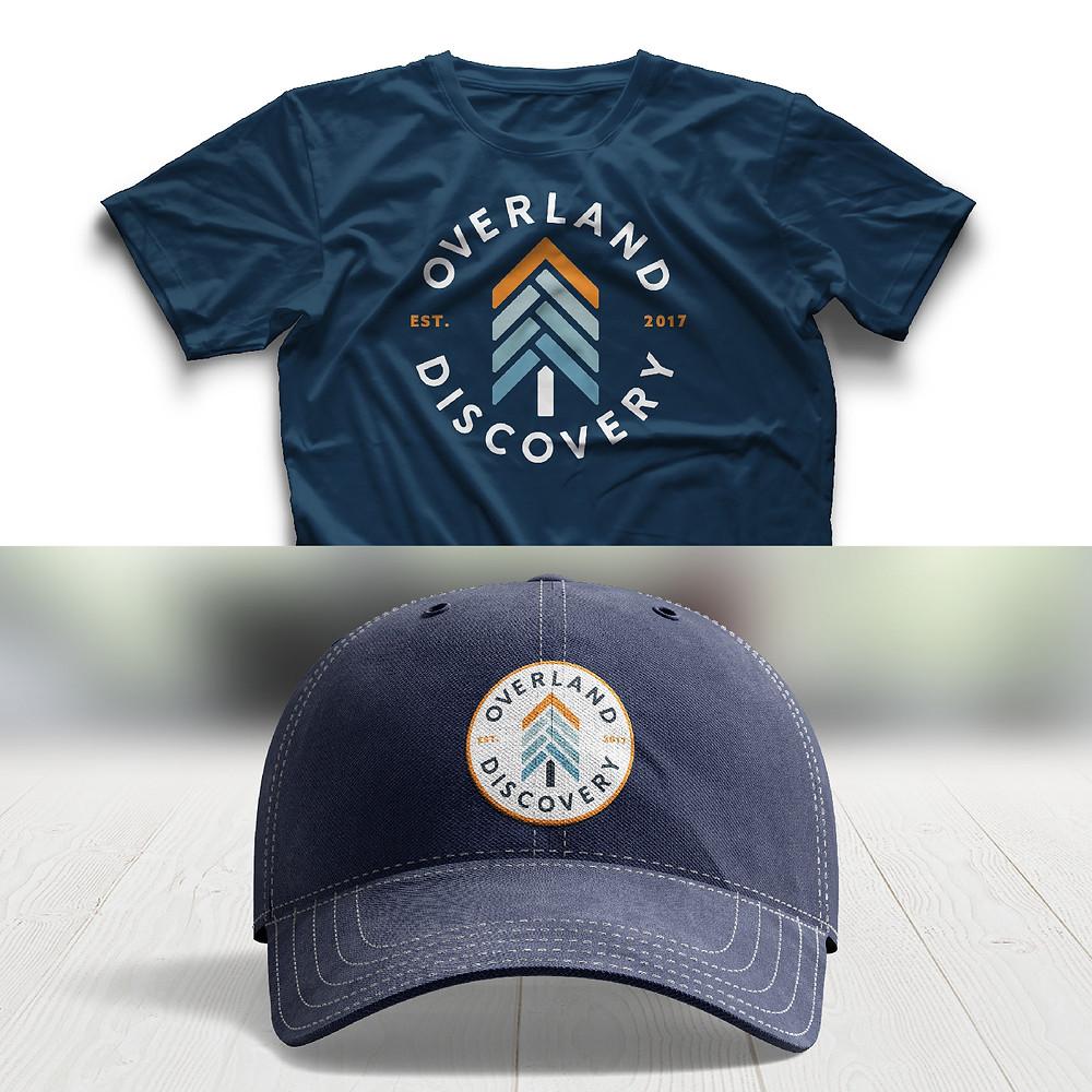 outdoor apparel badge design
