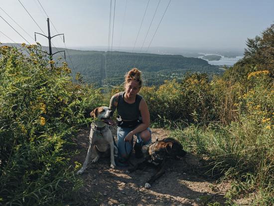 Hiking Fort Hunter