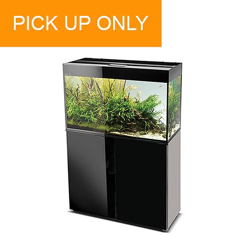 Aquael Glossy 100cm with LED Lighting – Black