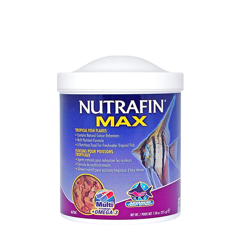 Nutrafin Max Tropical Fish Flakes – 19gm