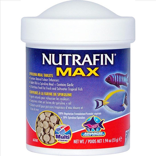 Nutrafin Max Sinking Spirulina Tablets – 110gm