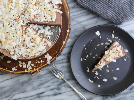 Vegan Paleo Coconut Cheesecake