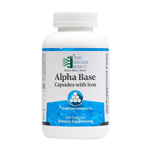 Alpha Base Multivitamin with Iron