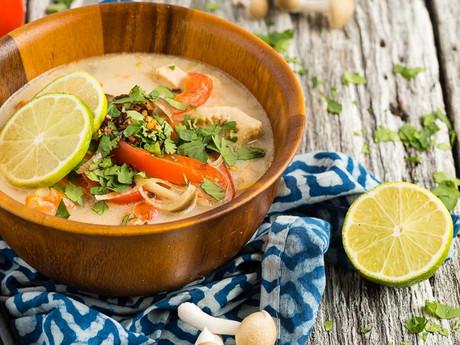 Keto Tom Kha Gai: Thai Coconut Chicken Soup
