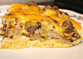 Paleo sausage and egg casserole