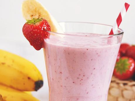 Paleo Strawberry Banana Smoothie