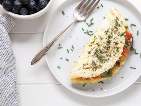 Keto Veggie Omelet
