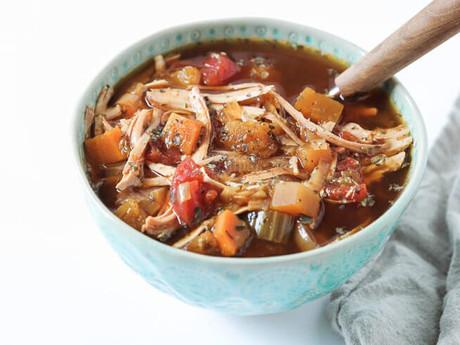 Paleo Turkey Stew