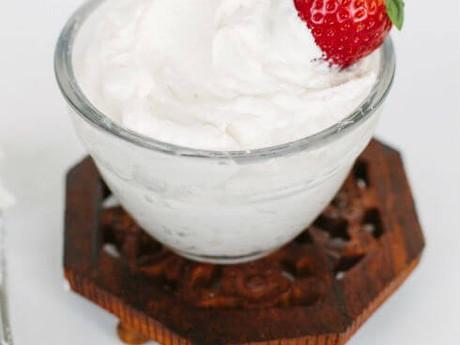 Paleo Coconut Whipped Cream