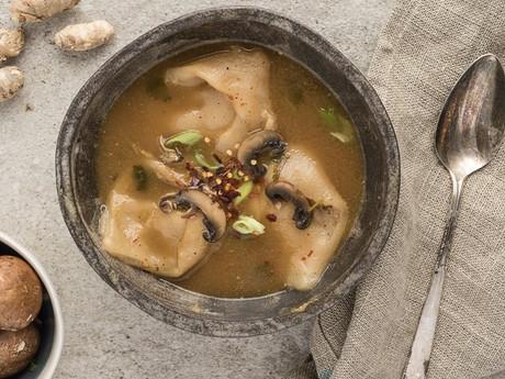 Paleo Turkey Wonton Soup