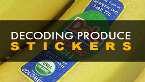Decoding Produce Stickers: What do the numbers 3, 4, 8, & 9 mean?