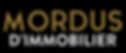 Mordus de immobilier Montreal logo - By