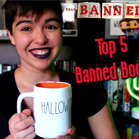 Top 5 Banned Books: Banned Books Week 2020