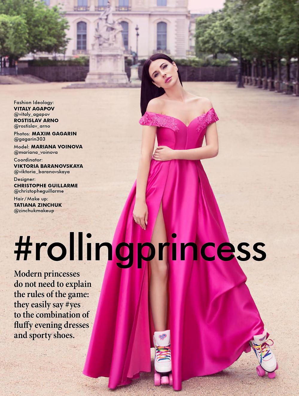 Mariana Voinova #rollingprincess