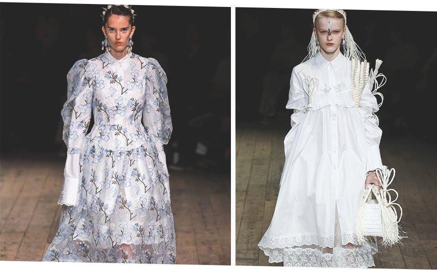 Романтичные платья – на вершину трендов