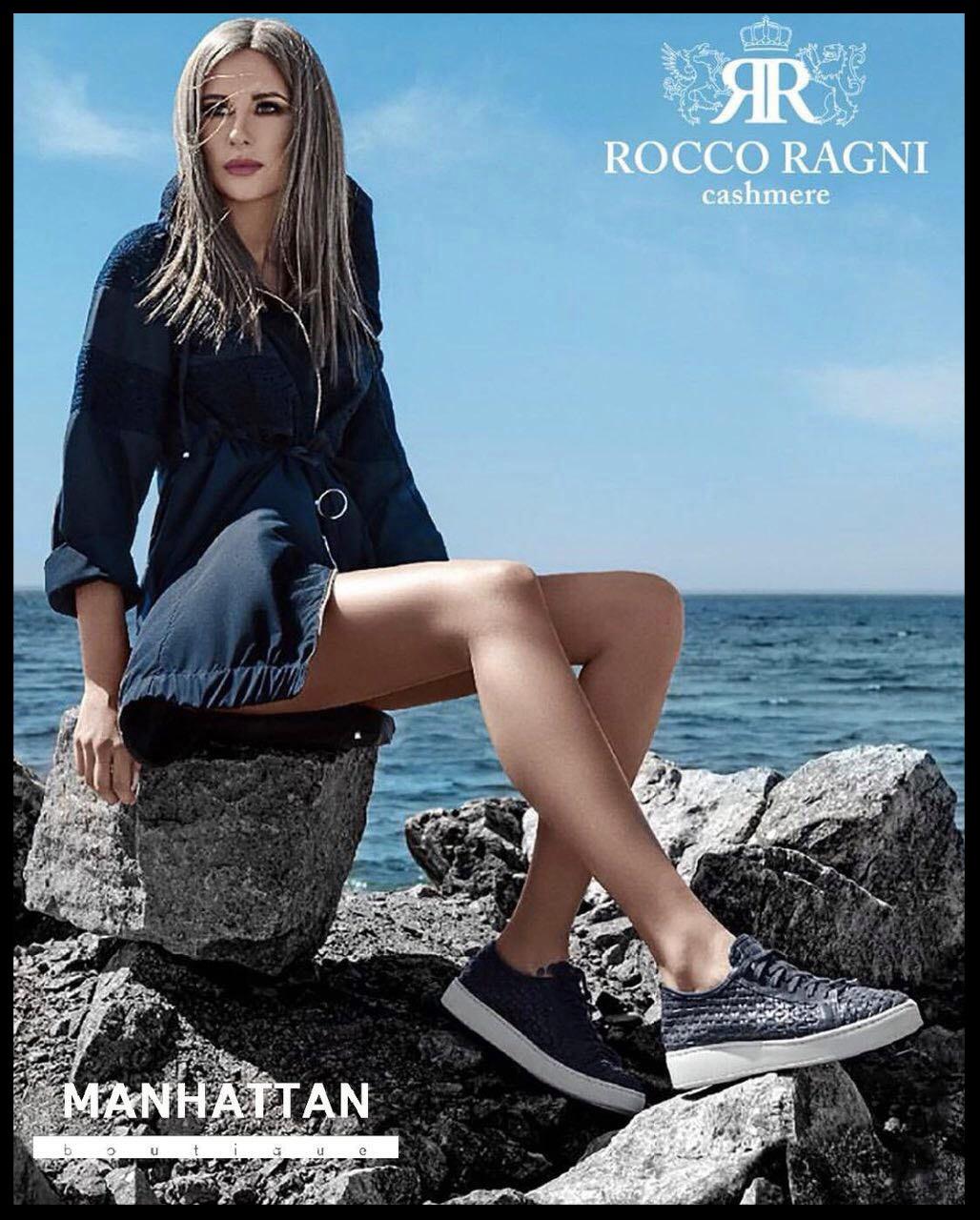 Mariana Voinova Rocco Ragni campaign