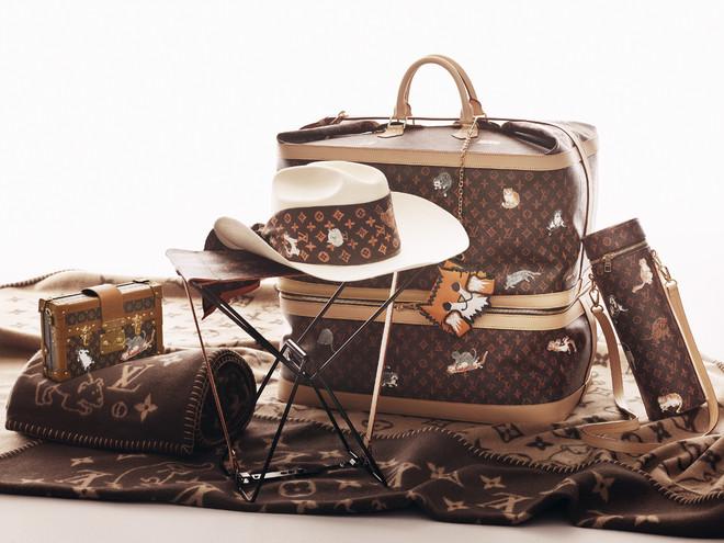 Коллаборация Louis Vuitton и питомцев Грейс Коддингтон
