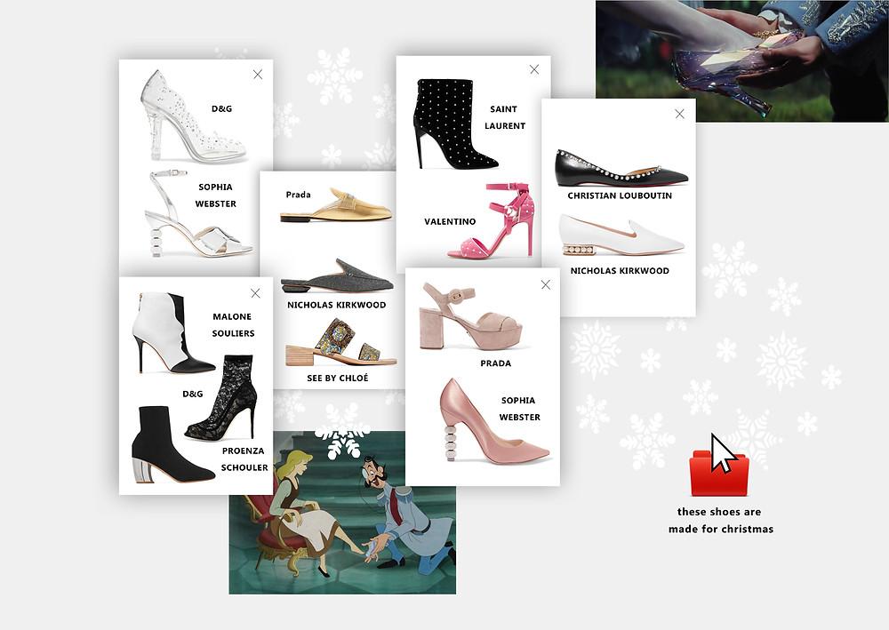 Обувь на новогоднюю ночь