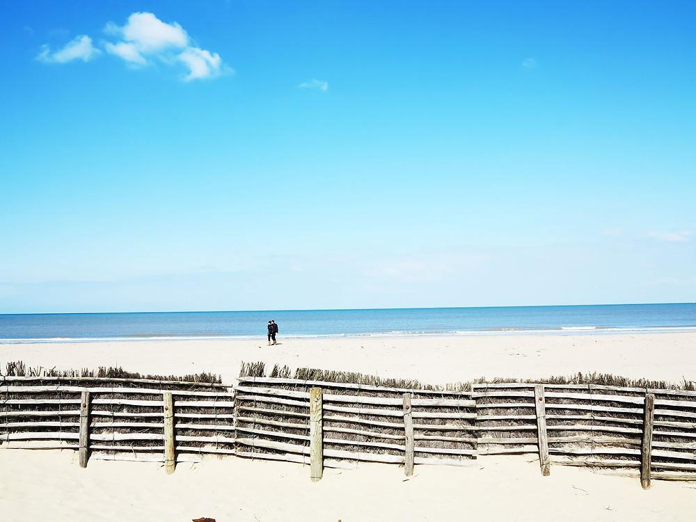 Пляж Deauville Beach, Нормандия