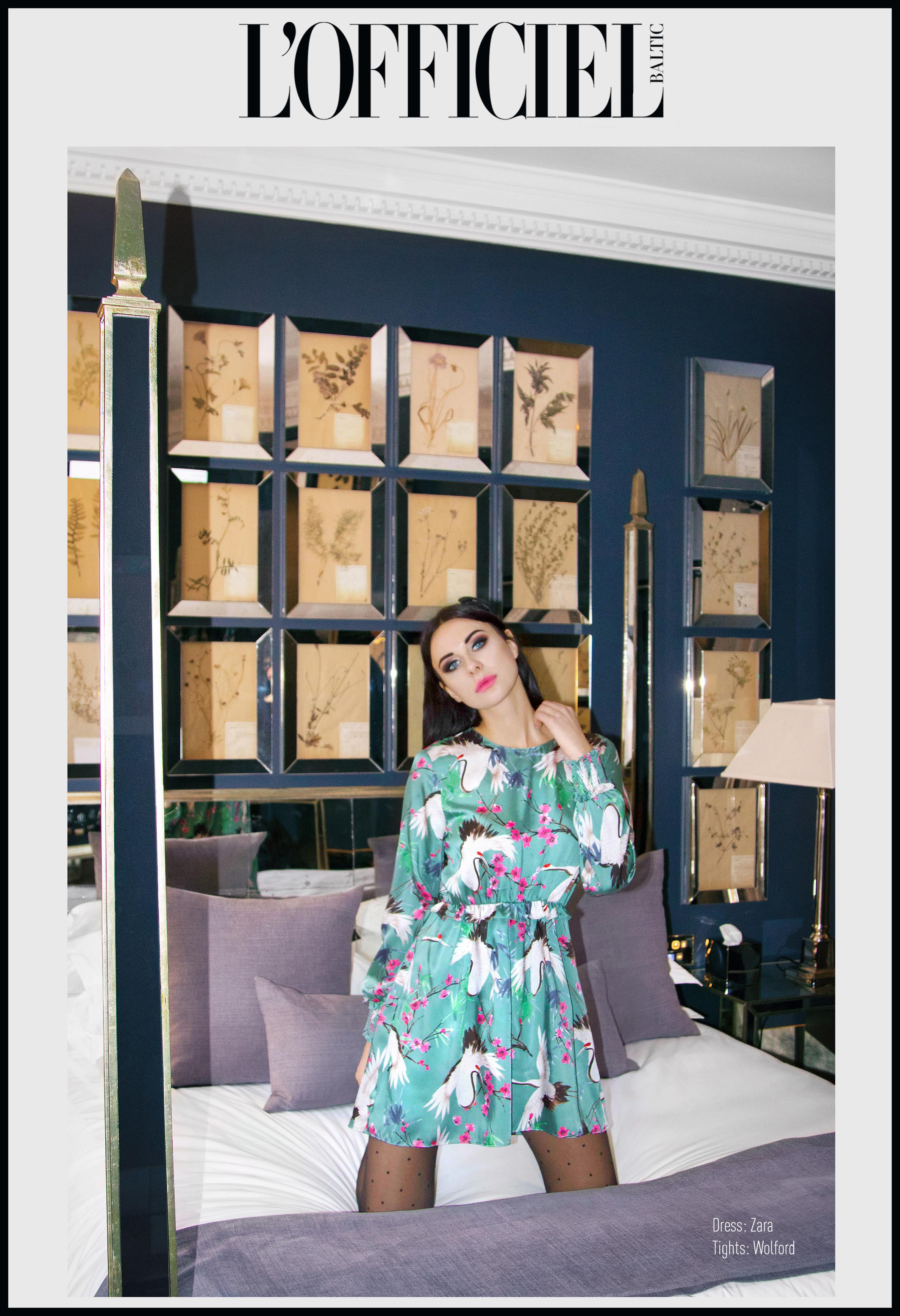 Mariana Voinova for L'Officiel
