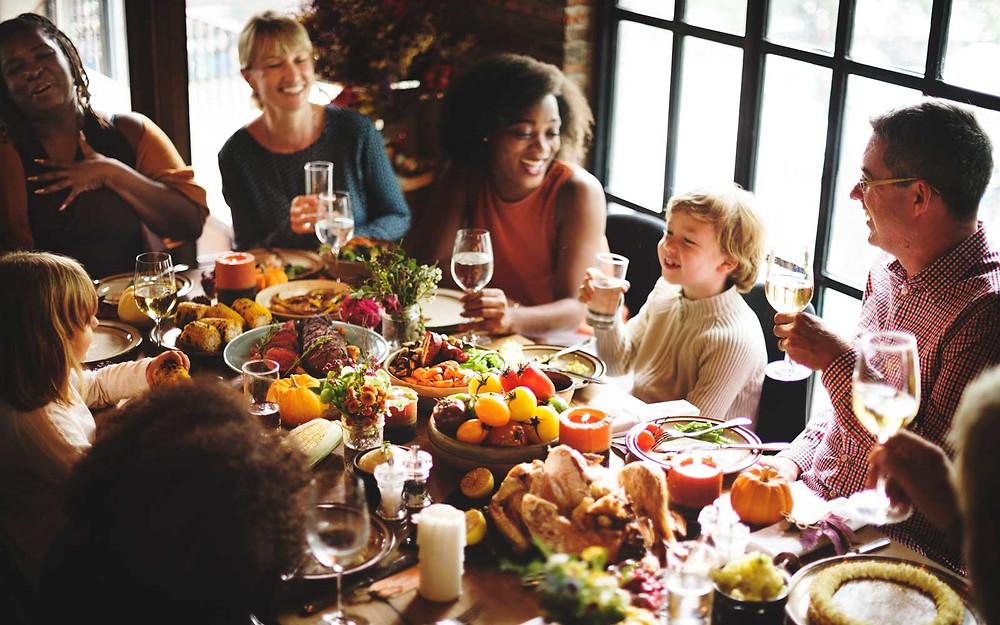 Интернациональный ужин: Традиции