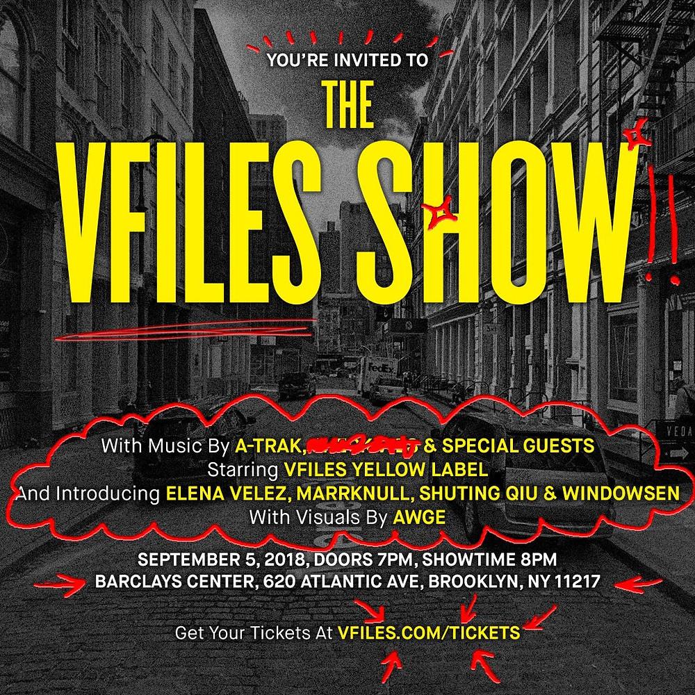 VFiles приглашают всех желающих на показ в Нью-Йорке